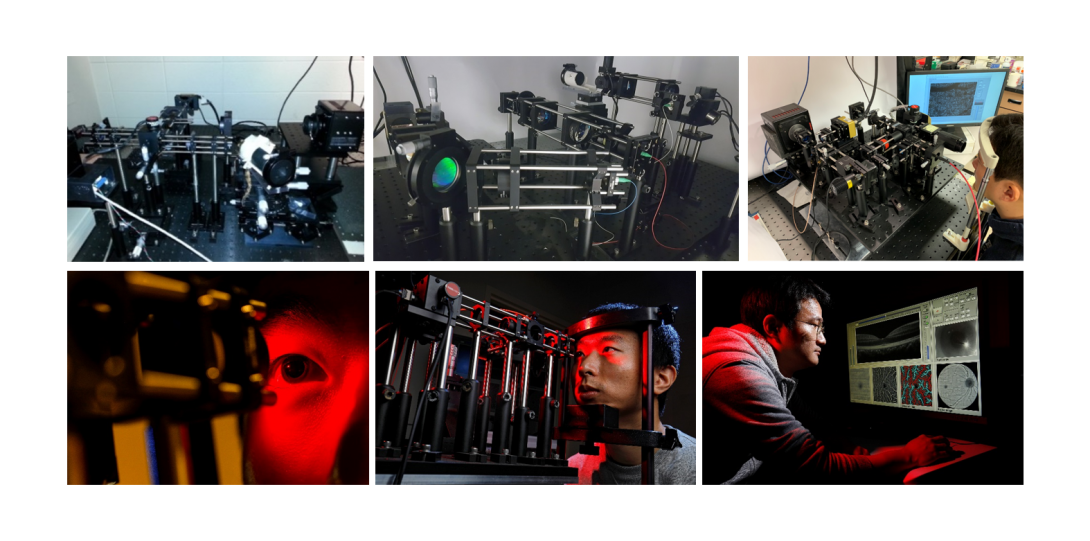 Dr. Yao's lab has many imaging systems